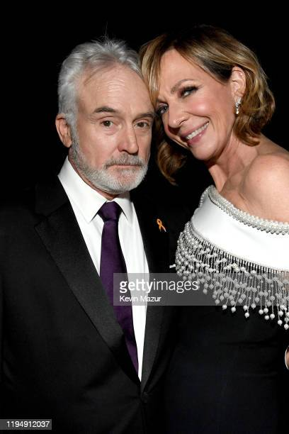 Bradley Whitford and Allison Janney attend PEOPLE's Annual Screen Actors Guild Awards Gala at The Shrine Auditorium on January 19 2020 in Los Angeles...