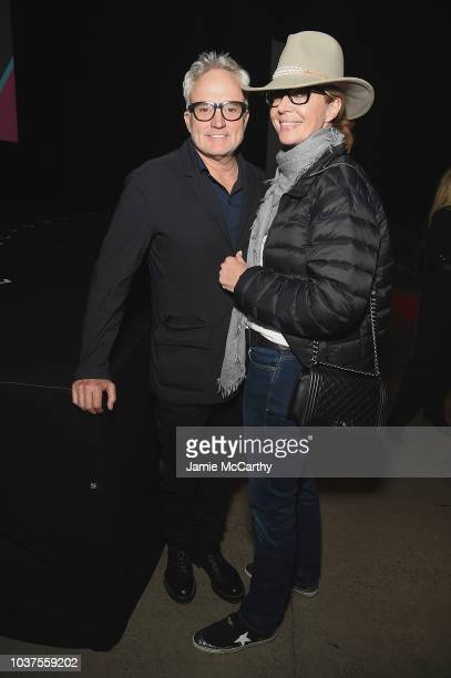"""Bradley Whitford and Allison Janney attend the """"Valley Of The Boom"""" Premiere during 2018 Tribeca TV Festival at Spring Studios on September 21, 2018..."""