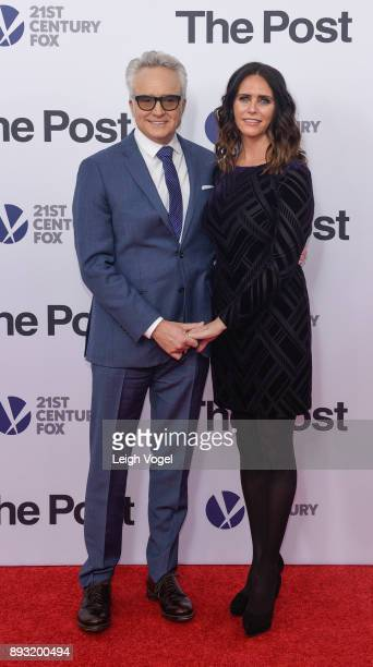 Bradley Whitford and Amy Landecker arrive at 'The Post' Washington DC premiere at The Newseum on December 14 2017 in Washington DC