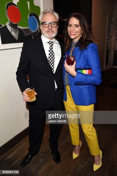 Bradley Whitford and Amy Landecker attend the Vanity Fair and Genesis along with 20th Century Fox and Fox Searchlight Pictures celebration of their...
