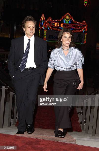 Bradley Whitford and Jane Kaczmarek during Fulfillment Fund Honors Jeffrey Katzenberg at Stars 2001 Benefit Gala at Hollywood Highland in Hollywood...