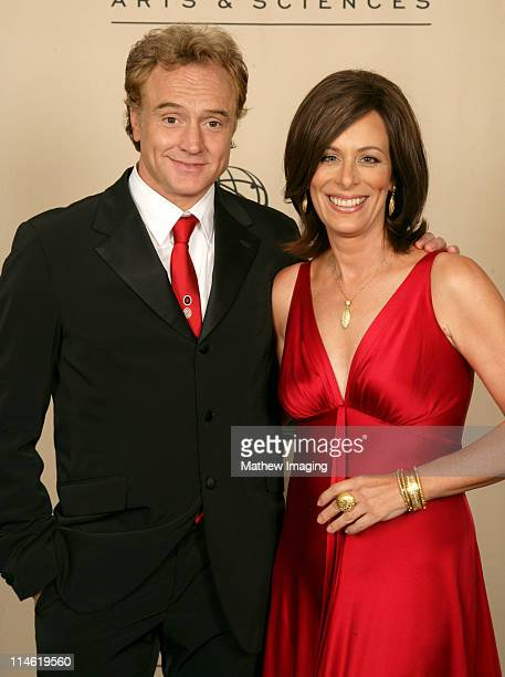 Bradley Whitford and Jane Kaczmarek presenters during 58th Annual Creative Arts Emmy Awards Photo Gallery at The Shrine Auditorium in Los Angeles...