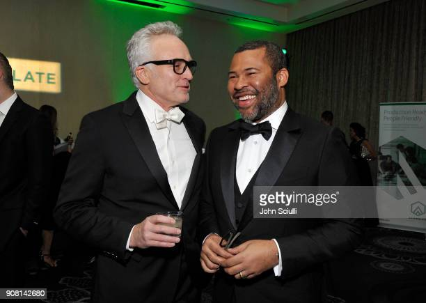 Bradley Whitford and Jordan Peele attend the 29th Annual Producers Guild Awards supported by GreenSlate at The Beverly Hilton Hotel on January 20...