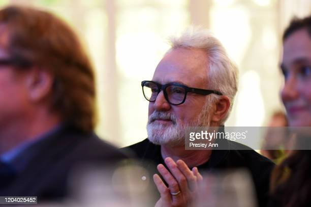 Bradley Whitford attends EMILY's List Brunch and Panel Discussion Defining Women at Four Seasons Hotel Los Angeles at Beverly Hills on February 04...