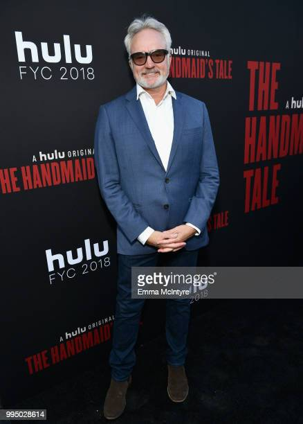 Bradley Whitford attends The Handmaid's Tale Hulu finale at The Wilshire Ebell Theatre on July 9 2018 in Los Angeles California