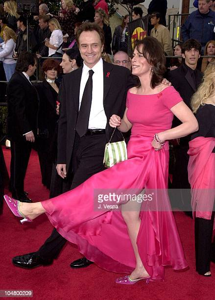 Bradley Whitford Jane Kaczmarek during The 7th Annual Screen Actors Guild Awards at Shrine Auditorium in Los Angeles California United States