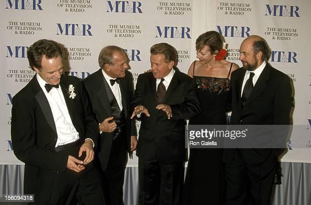 Bradley Whitford, John Spencer, Martin Sheen, and Allison Janney