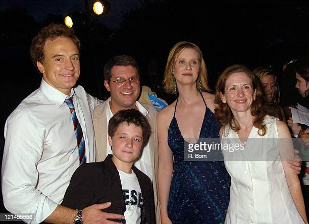 Bradley Whitford Mark Levin Josh Hutcherson Cynthia Nixon and Jennifer Flackett