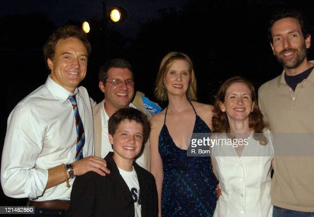 Bradley Whitford Mark Levin Josh Hutcherson Cynthia Nixon Jennifer Flackett and Guest