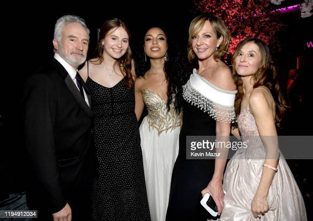 Bradley Whitford, Mary Louisa Whitford and Allison Janney attend PEOPLE's Annual Screen Actors Guild Awards Gala at The Shrine Auditorium on January...
