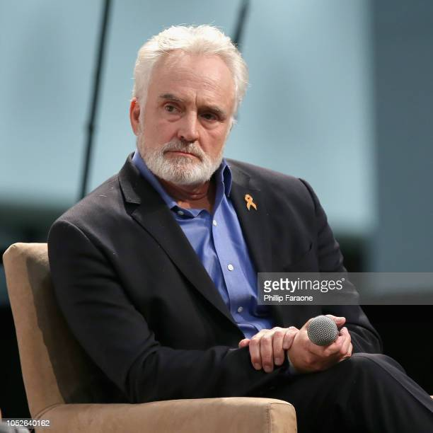 Bradley Whitford speaks onstage during Politicon 2018 at Los Angeles Convention Center on October 20 2018 in Los Angeles California