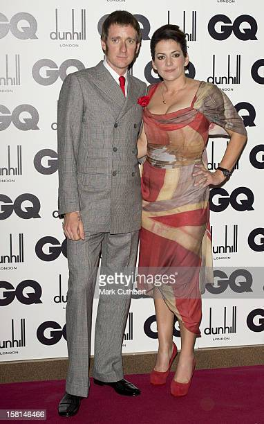 Bradley Wiggins And Wife Catherine At The 2012 Gq Men Of The Year Awards At The Royal Opera House Bow Street London