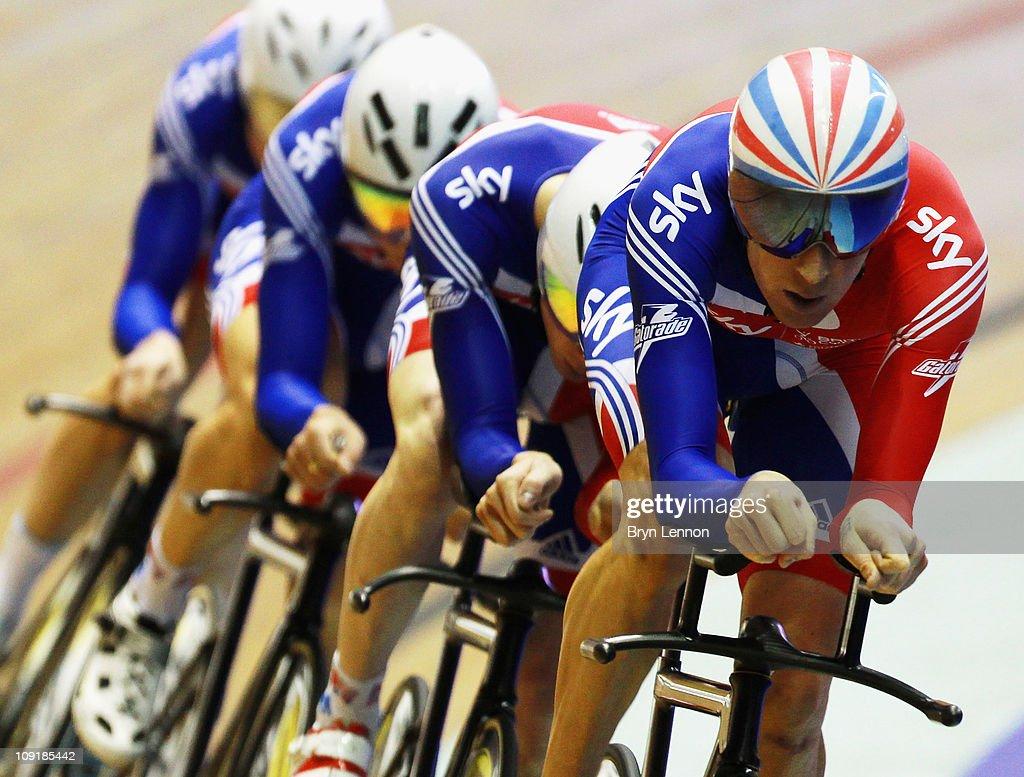 UCI Track Cycling World Cup Classic in Manchester - Previews : Fotografía de noticias
