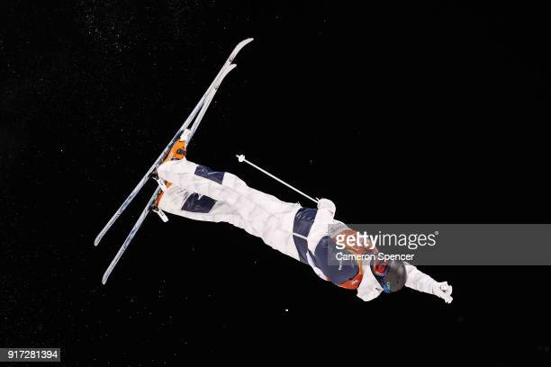 Bradley Wilson of the United States competes in the Freestyle Skiing Men's Moguls Final on day three of the PyeongChang 2018 Winter Olympic Games at...