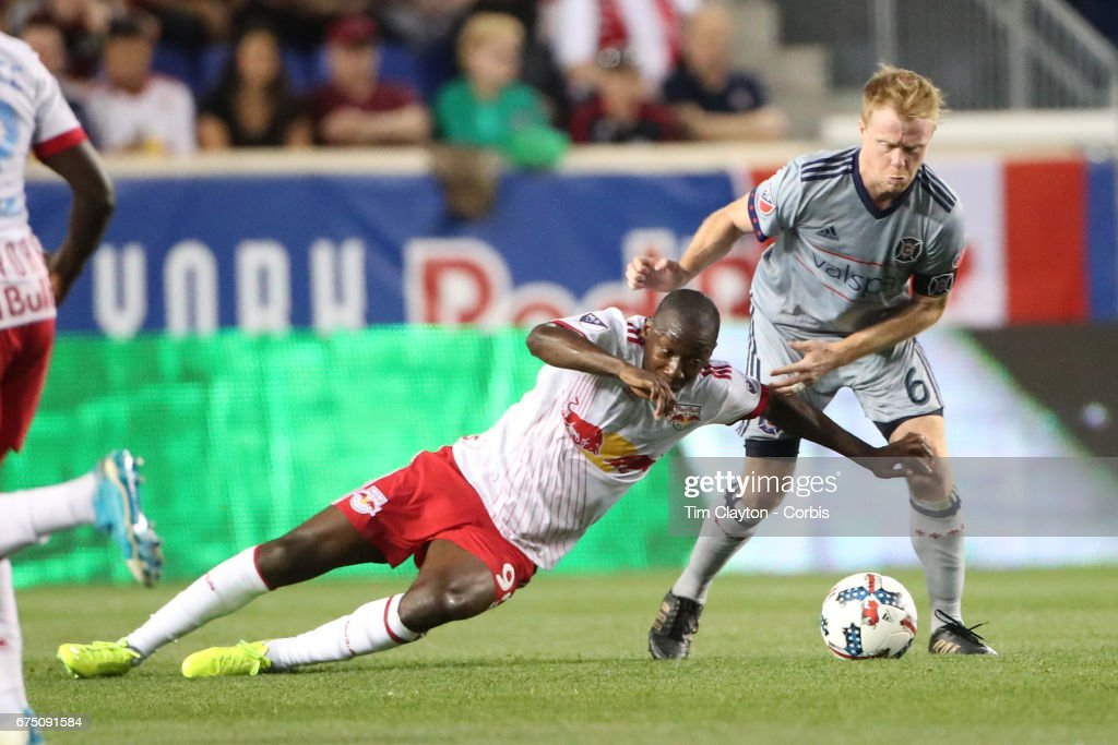 New York Red Bulls Vs Chicago Fire : News Photo