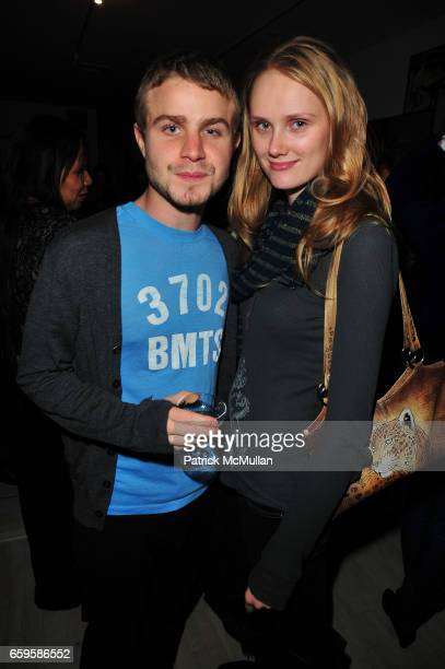 Brady Corbet and Brandy Brechbiel attend HBO Premiere of Alexander Olch's THE WINDMILL MOVIE at Private Residence on October 28 2009 in New York