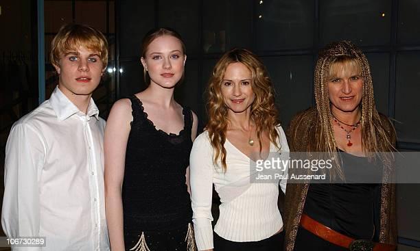 Brady Corbet Evan Rachel Wood Holly Hunter and Catherine Hardwicke