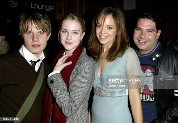 Brady Corbet Evan Rachel Wood Rachel Boston and Joel Michaely