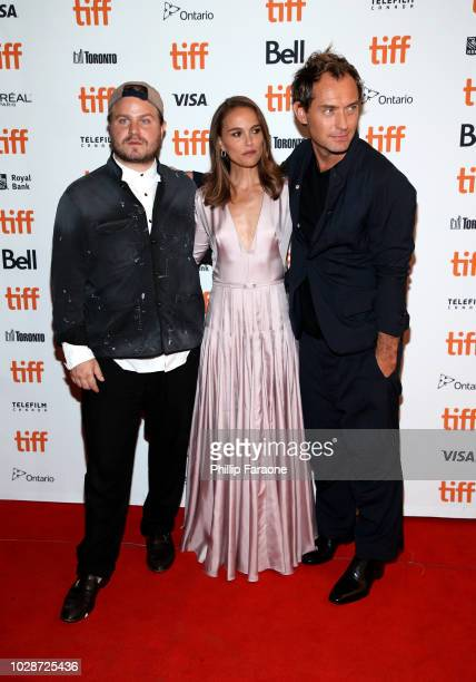Brady Corbet Natalie Portman and Jude Law attend the Vox Lux premiere during 2018 Toronto International Film Festival at The Elgin on September 7...
