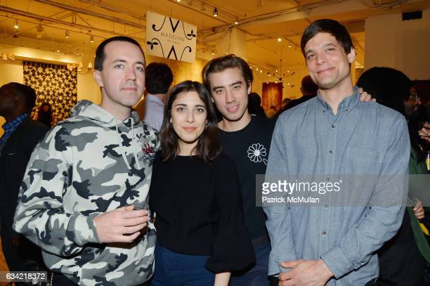 Brady Gunnell Lisa McGee James Orlando and Danieu Johnson attend the ABC Carpet Home and Obeetee Celebrate the Launch of the Tarun Tahiliani Rug...