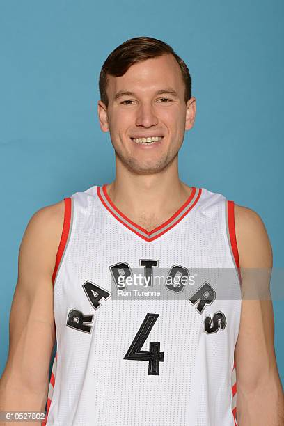Brady Heslip of the Toronto Raptors poses for a head shot during the 20162017 Media Day on September 26 2016 at the BioSteel Centre in Toronto...