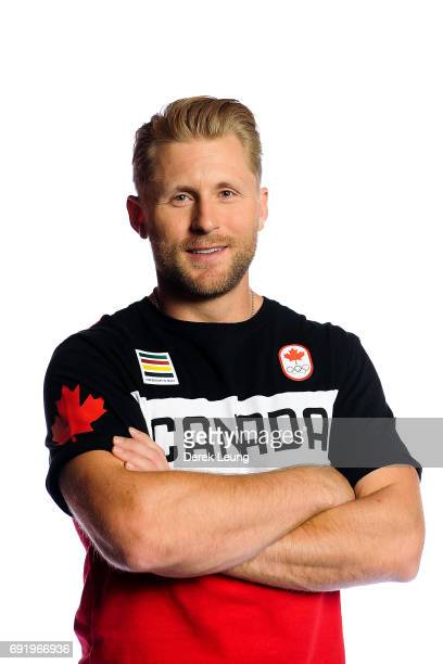 Brady Leman Poses For A Portrait During The Canadian Olympic Committee Portrait Shoot On June