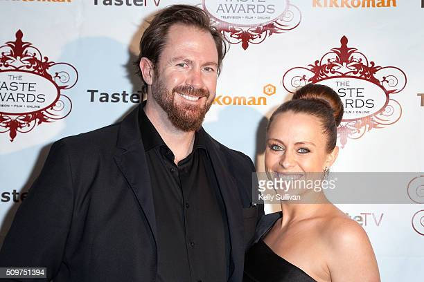 Brady Lowe and Heather Craig arrive at the 7th Annual Taste Awards at the Castro Theatre on February 11 2016 in San Francisco California