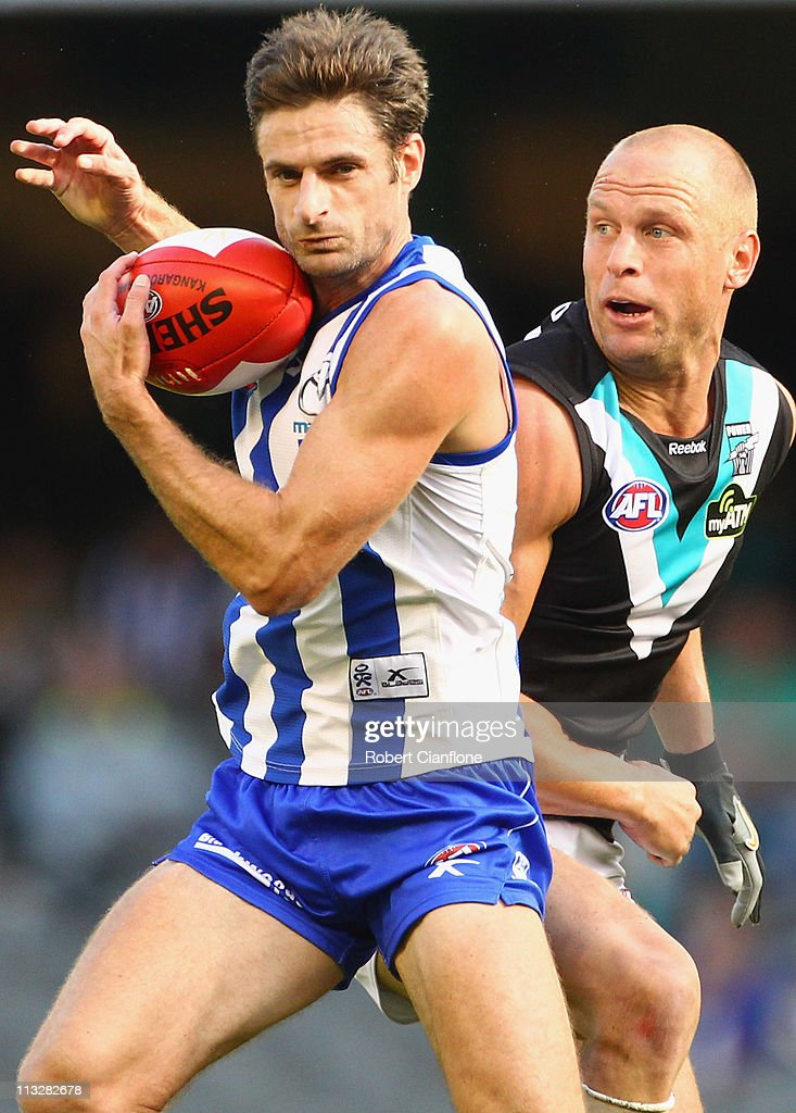 AFL Rd 6 - North Melbourne v Port Adelaide