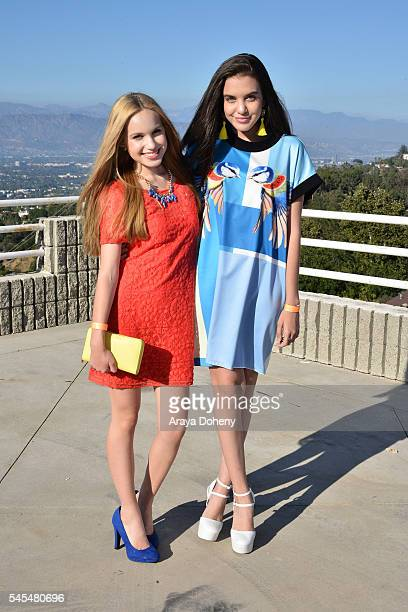 Brady Reiter and Lilimar attend the PrettyLittleThingcom #PLTxUSA launch party on July 7 2016 in Los Angeles California