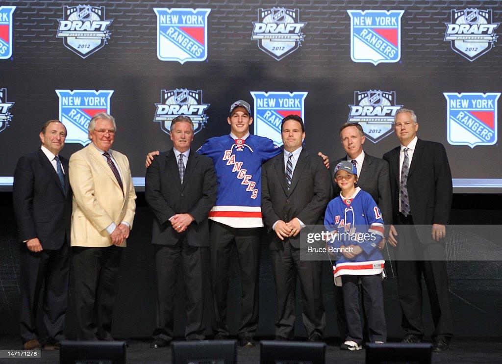 2012 NHL Entry Draft - Round One : News Photo