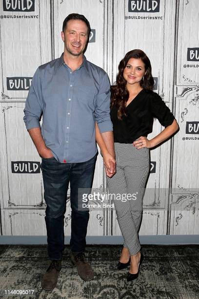 Brady Smith and Tiffani Thiessen attend the Build Series to discuss 'You're Missing It' at Build Studio on April 30 2019 in New York City