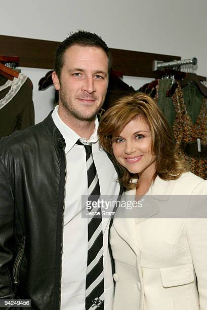 Brady Smith and Tiffani Thiessen