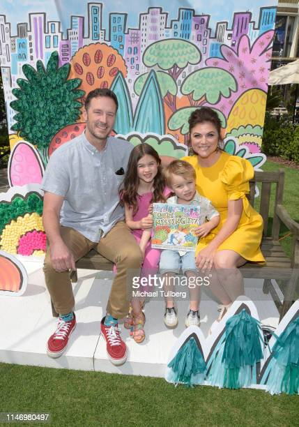Brady Smith Harper Renn Smith Holt Fisher Smith and Tiffani Theissen attend a book signing event for the book You're Missing It at The Grove on May...