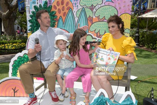 Brady Smith Holt Fisher Smith Harper Renn Smith and Tiffani Theissen attend a book signing event for their book You're Missing It at The Grove on May...