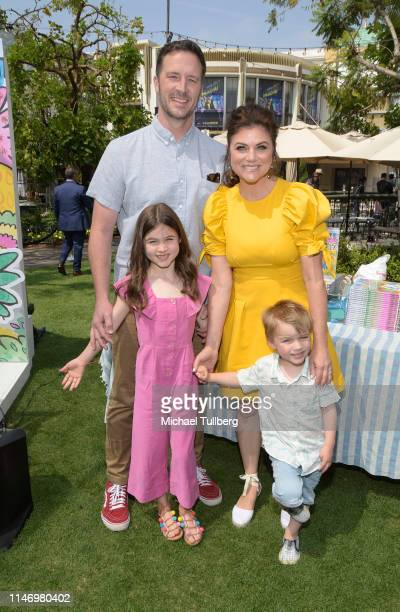 Brady Smith Tiffani Theissen Holt Fisher Smith and Harper Renn Smith attenda book signing event for the book You're Missing It at The Grove on May 04...