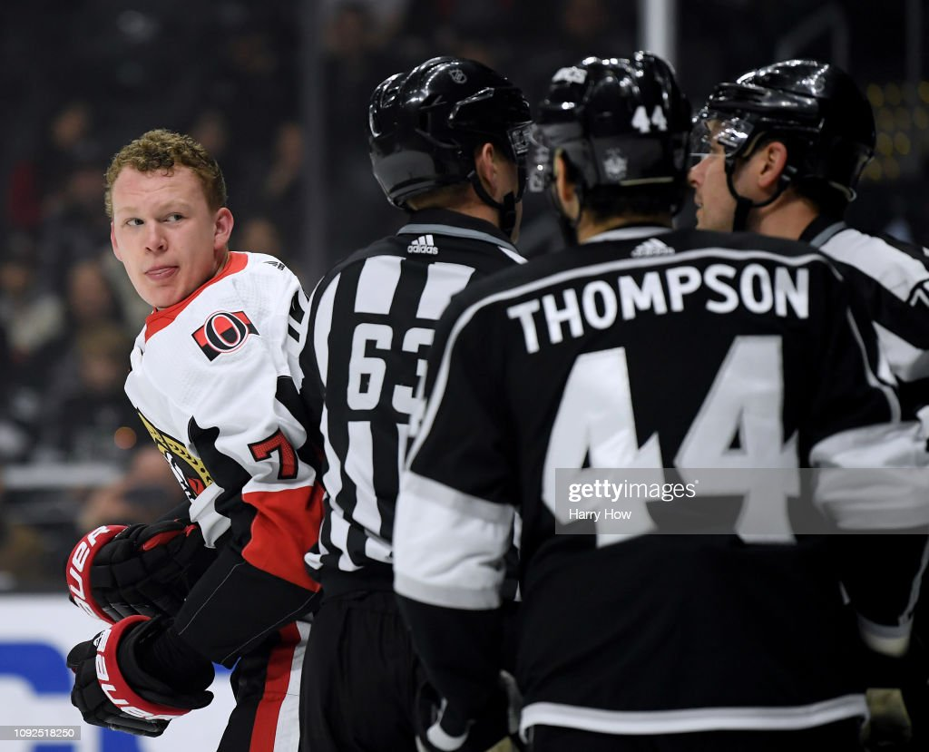 Ottawa Senators v Los Angeles Kings : News Photo
