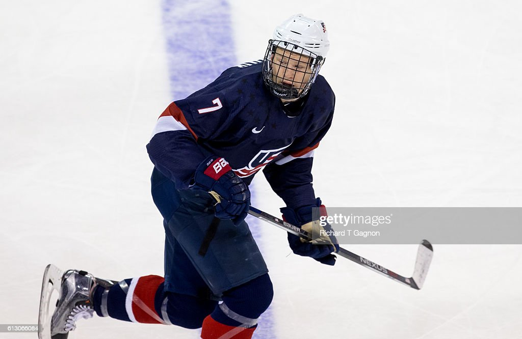 USA U-18 Team v Boston University : News Photo