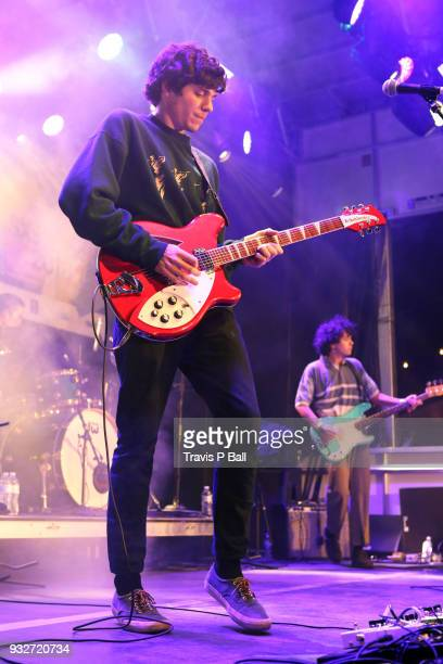 Braeden Lemasters of Wallows performs onstage at Pandora during SXSW at Stubb's BarBQ on March 15 2018 in Austin Texas