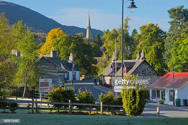 braemar, aberdeenshire - braemar stock pictures, royalty-free photos & images