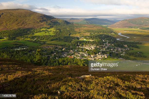 Braemar village, in the Cairngorms National Park