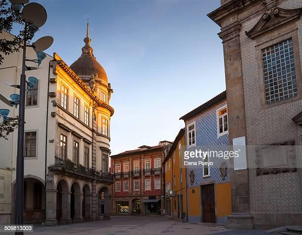 Braga at sunset