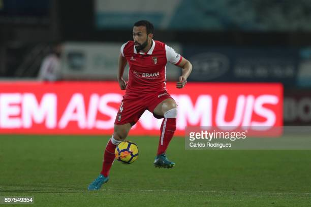 Braga defender Jefferson from Brasil during the match between Vitoria de Setubal FC and SC Braga for the Portuguese League Cup at Estadio do Bonfim...