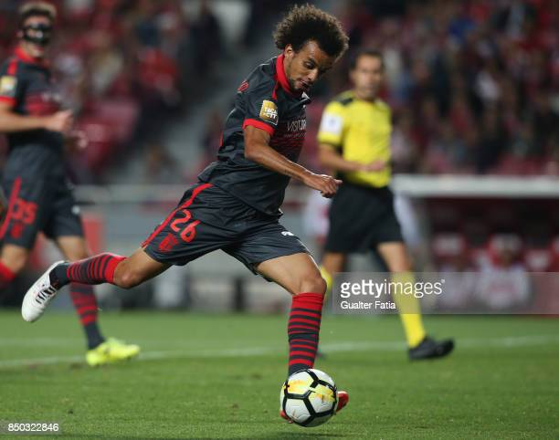 Braga forward Fabio Martins from Portugal in action during the Portuguese League Cup match between SL Benfica and SC Braga at Estadio da Luz on...
