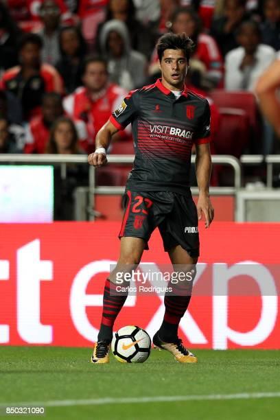 Braga forward Joao Carlos Teixeira from Portugal during the match between SL Benfica and SC Braga for the Portuguese Taca da Liga at Estadio da Luz...