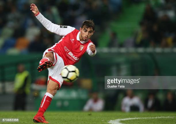 Braga forward Ricardo Horta from Portugal in action during the Primeira Liga match between Sporting CP and SC Braga at Estadio Jose Alvalade on...