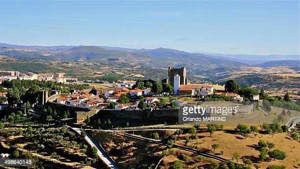 Braganca's Castle, Tras-os-Montes, Portugal.