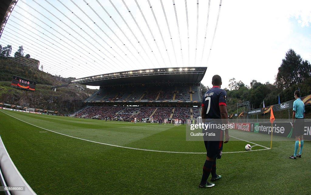 SC Braga v FC Shakhtar Donetsk - UEFA Europa League