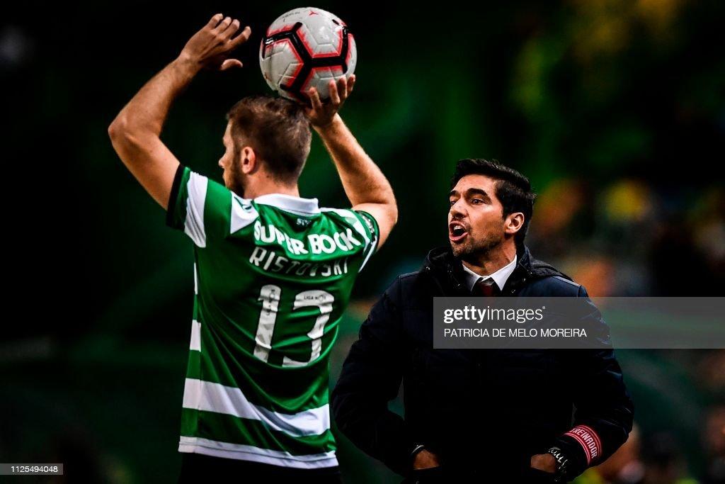 PRT: Sporting CP v SC Braga - Liga NOS