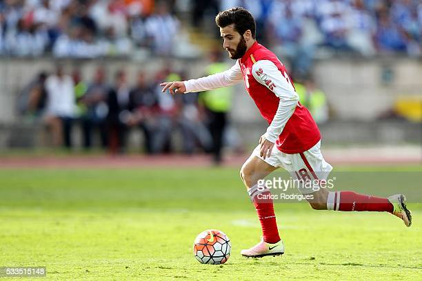 Braga's midfielder Rafa Silva during the match between FC Porto and SC Braga for the Portuguese Cup Final at Estadio do Jamor on May 22 2016 in...