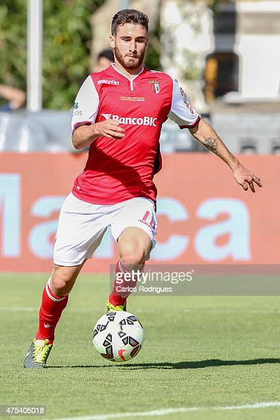 Braga's midfielder Rafa Silva during the Portuguese Cup Final between Sporting CP and SC Braga at Estadio Nacional on May 31 2015 in Oeiras Portugal